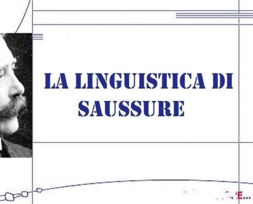 La linguistica di Saussurre (1)